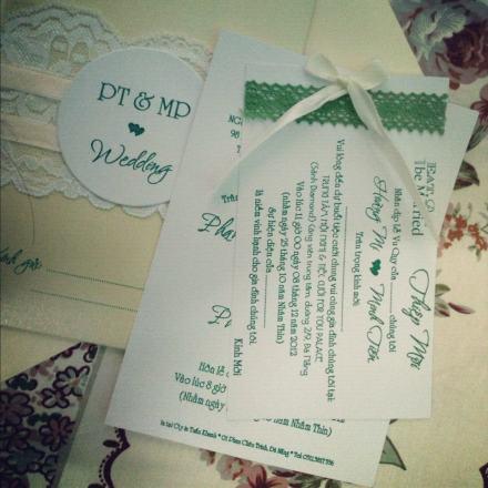 Thiệp cưới 1
