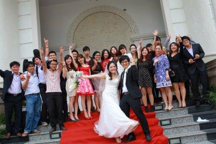 Lễ cưới Hạ Uyên