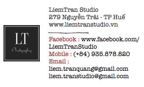 Liem Tran Studio contact
